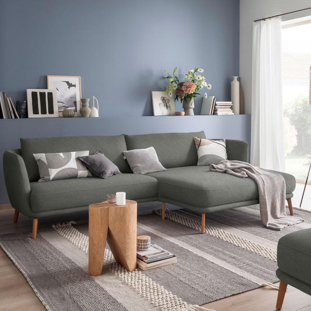 Sofa mit Longchair Pearl